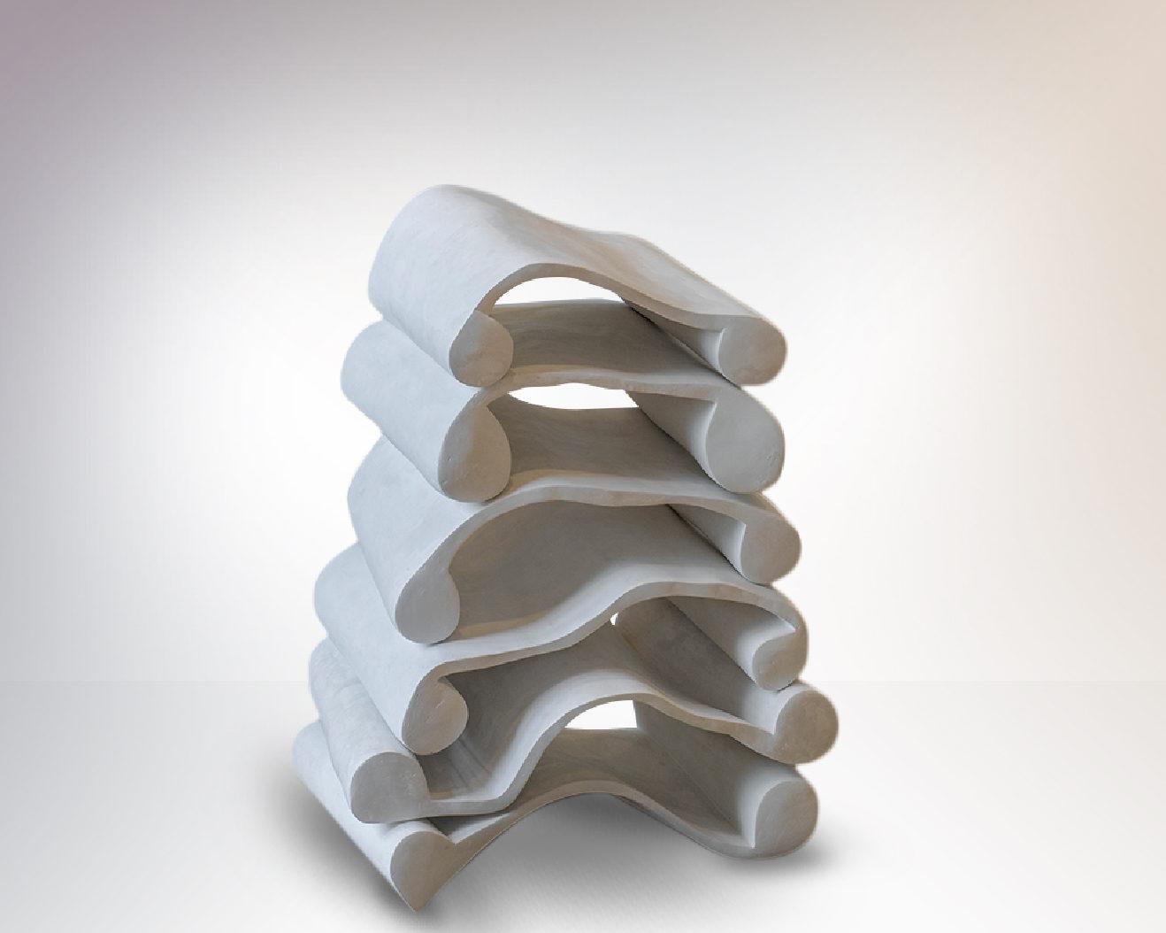 Scheiterhaufen Sculpture by Carola Eggeling 1
