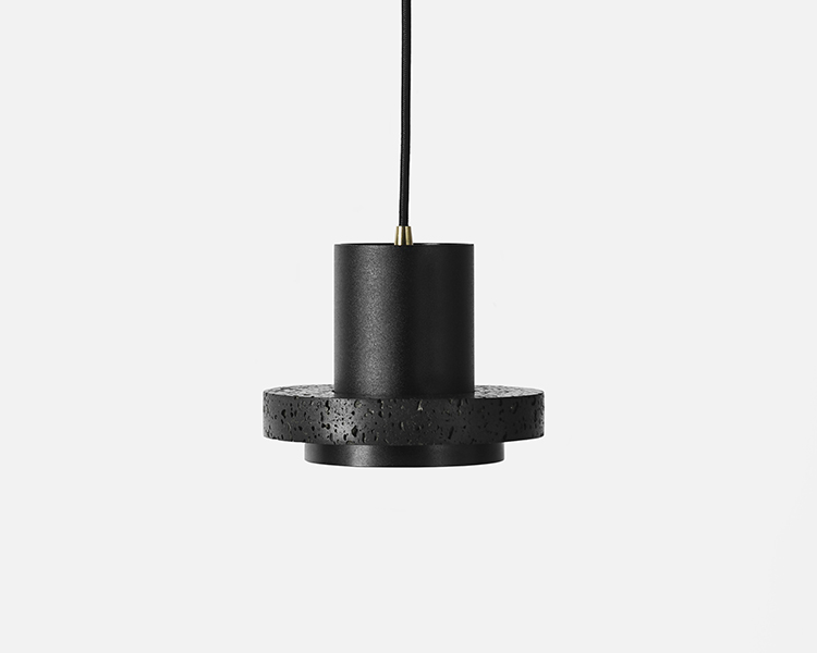 Buzao-Calm-Small-Lava-Stone-Pendant-Lamp-Savannah-Bay-Gallery-2