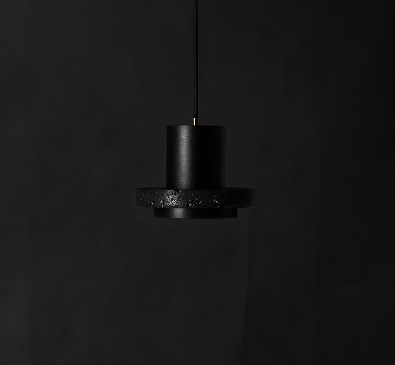 Buzao-Calm-Small-Lava-Stone-Pendant-Lamp-Savannah-Bay-Gallery-4