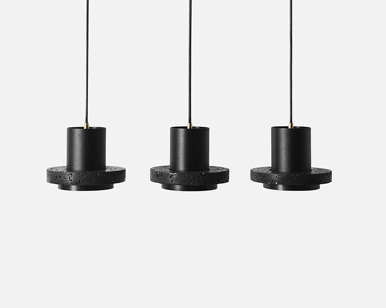 Buzao-Calm-Small-Lava-Stone-Pendant-Lamp-Savannah-Bay-Gallery
