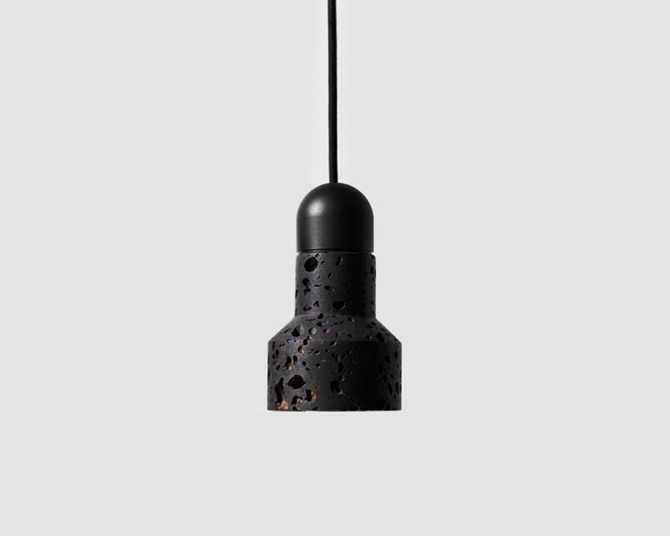 Buzao-Qie-Lava-Stone-Pendant-Lamp-Savannah-Bay-Gallery