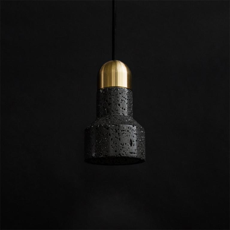 Buzao-Qie-Lava-Stone-Pendant-Lamp-Savannah-Bay-Gallery-4