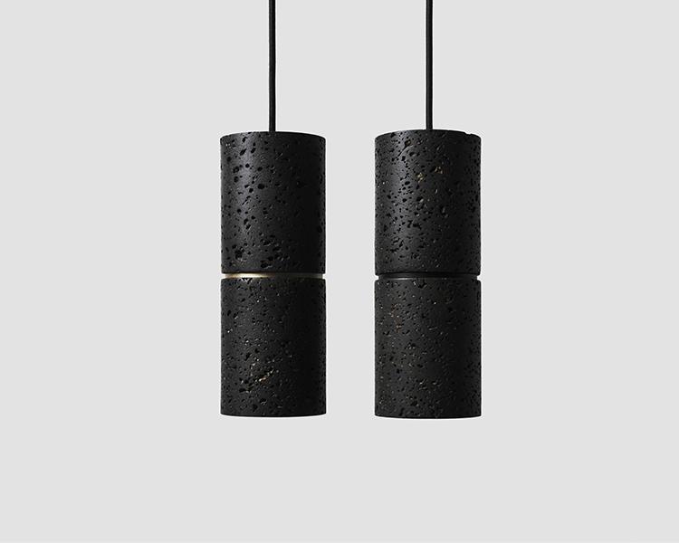 Buzao-Ri-Lava-Stone-Pendant-Lamp-Savannah-Bay-Gallery