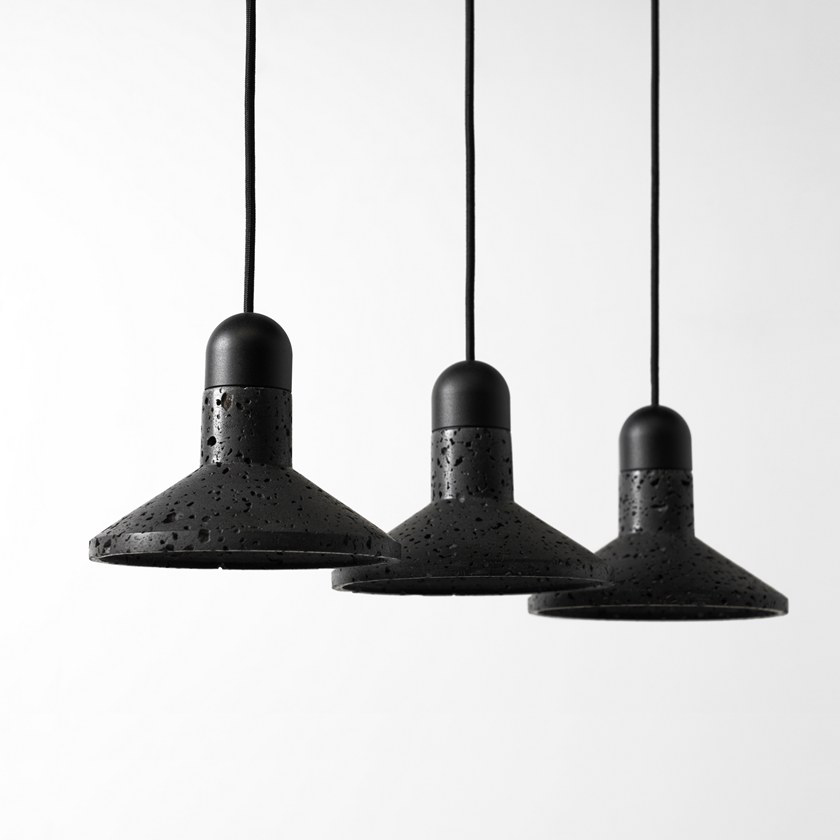 Buzao-Shang-Lava-Stone-Pendant-Lamp-Savannah-Bay-Gallery-4