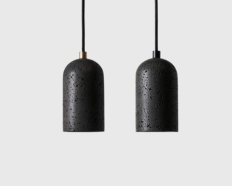 Buzao-U-Lava_Stone_Pendant-Lamp-Savannah-Bay-Gallery 2