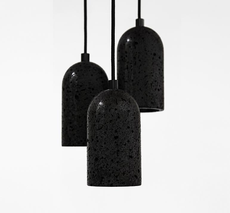 Buzao-U-Lava_Stone_Pendant-Lamp-Savannah-Bay-Gallery_3