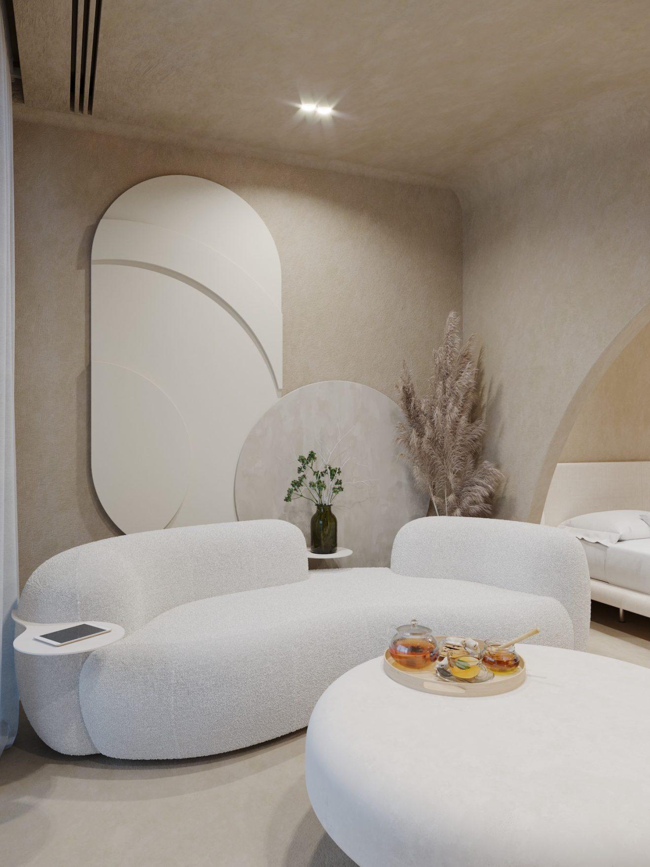 Sofa Tateyama by Artefatto x Secolo 5