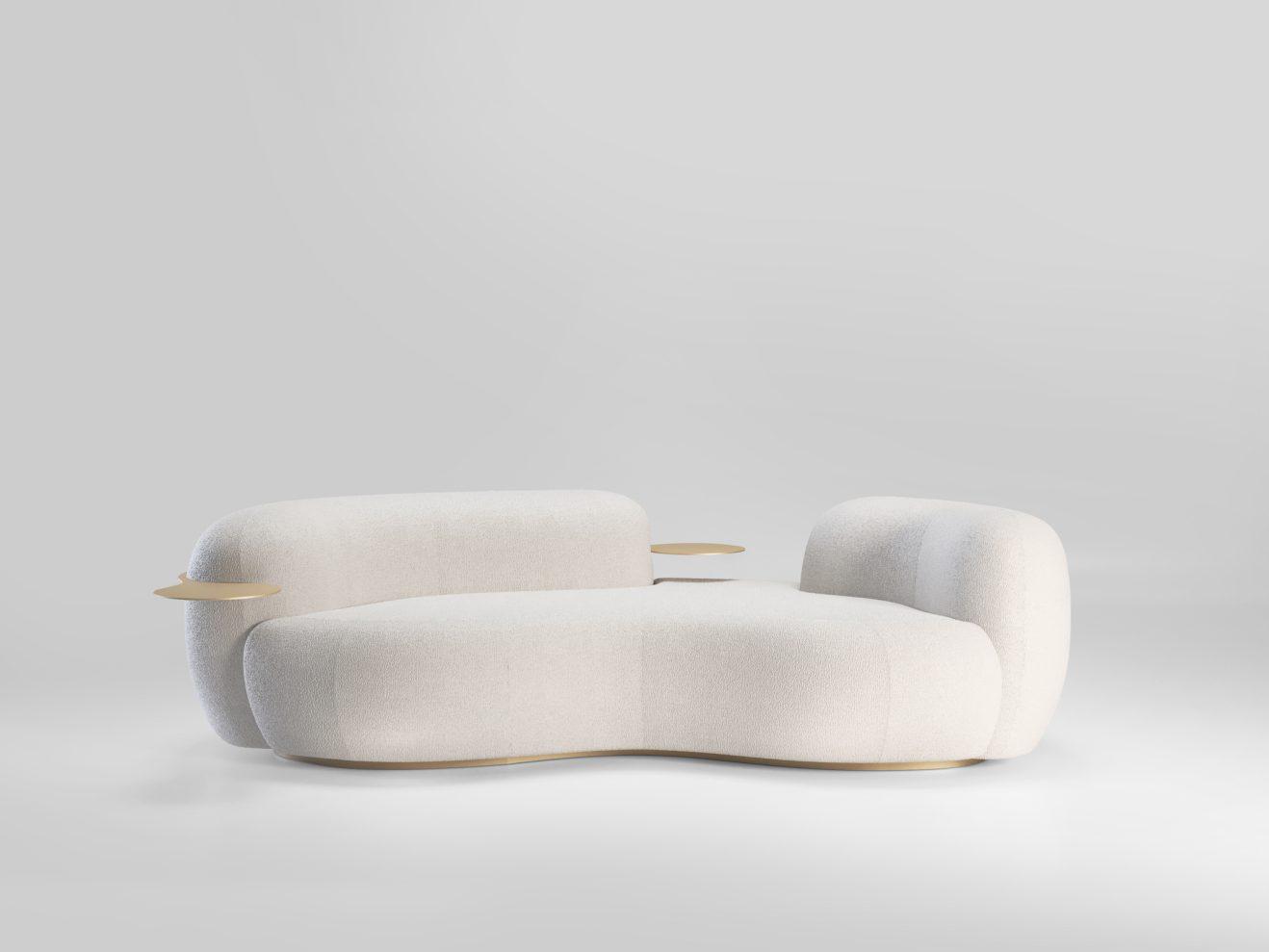 Sofa Tateyama by Artefatto x Secolo 1
