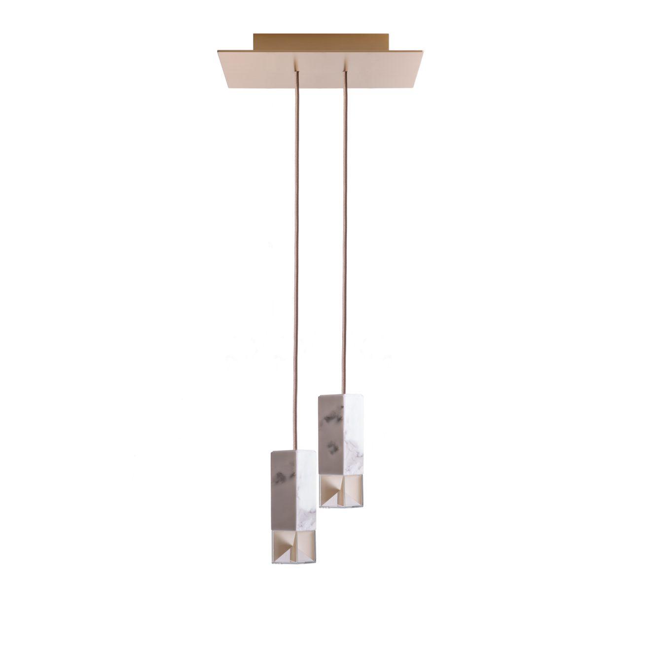 Formaminima-LampOne-DuetChandelier-marble-3