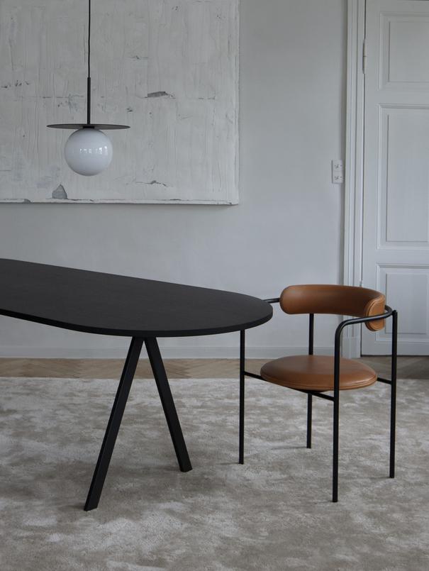 Chaise FF 4 pieds par Friends & Founders (textile) 1