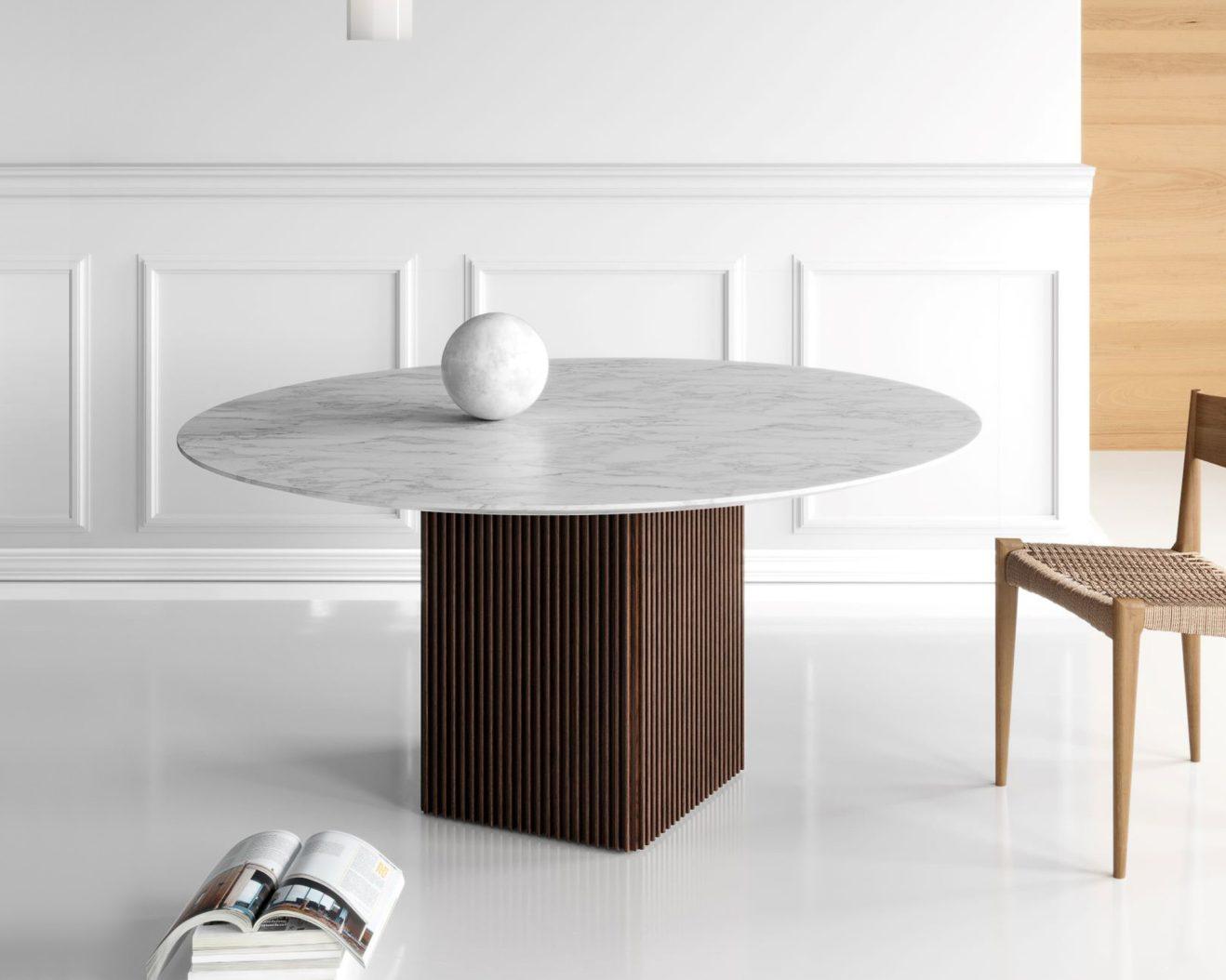 DK3-TEN-Round table-Marble-2