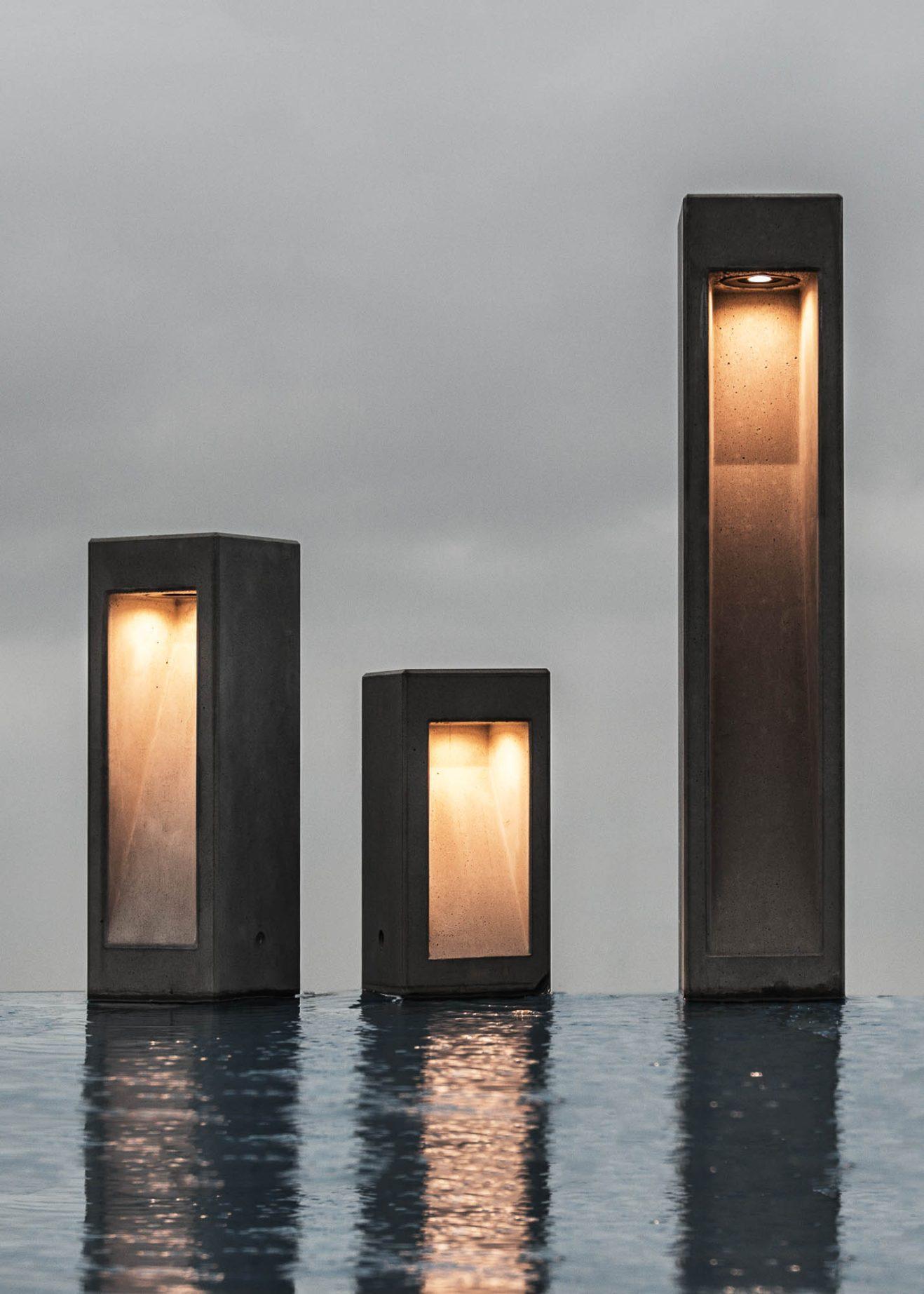 Outdoor lighting Cube by Bentu Design (large) 2