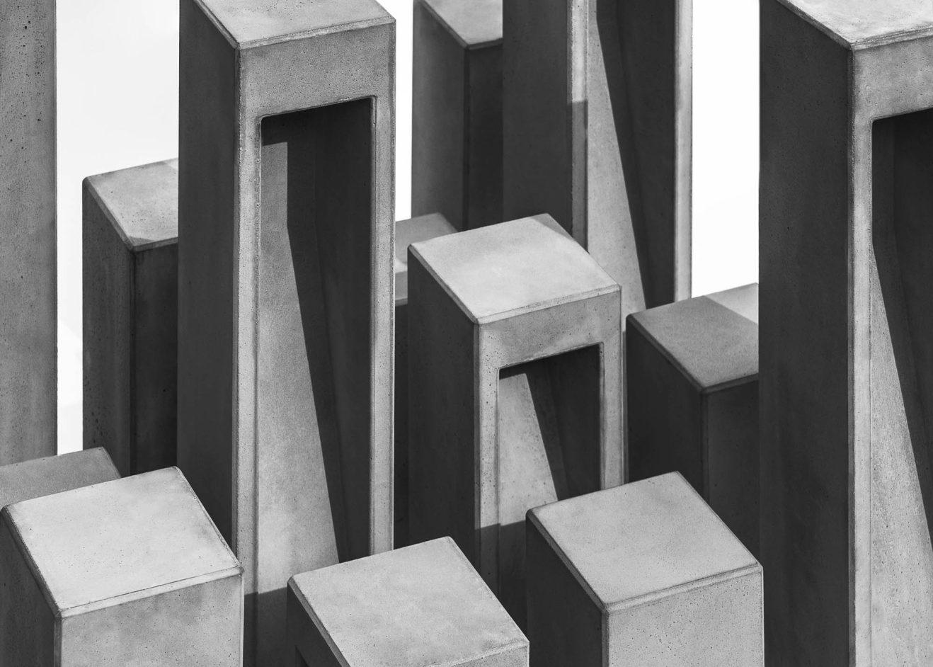 Luminaire extérieur Cube par Bentu Design (large) 1