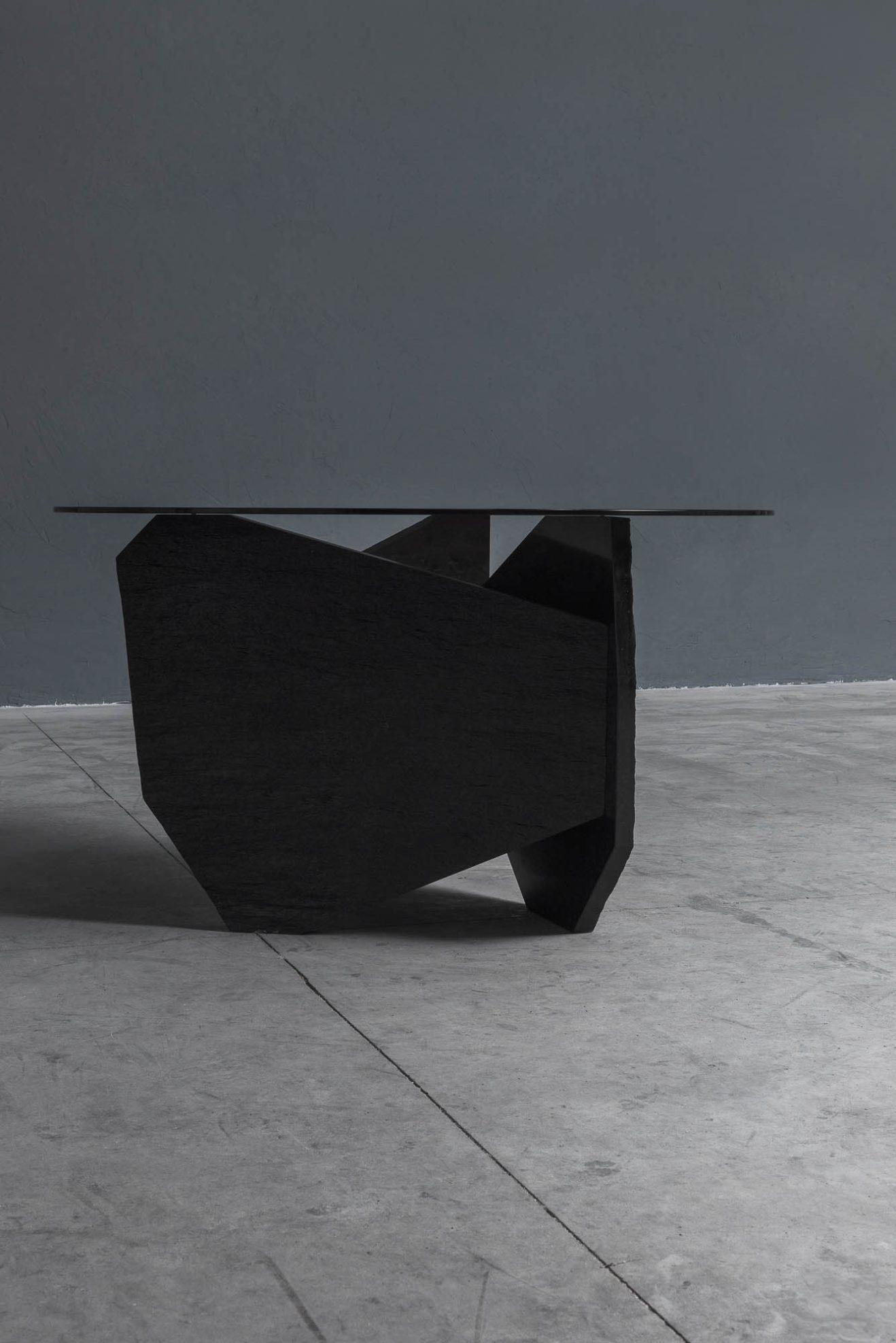 Frederic-Saulou-Fragmente-Dining Table-Savannah Bay Gallery-6