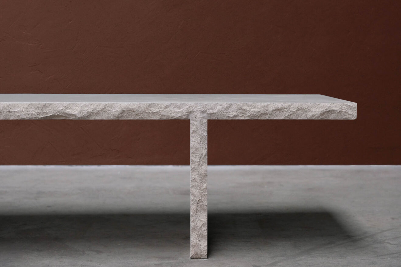 Frederic-Saulou-Frustre-Coffee Table-Savannah Bay Gallery-3