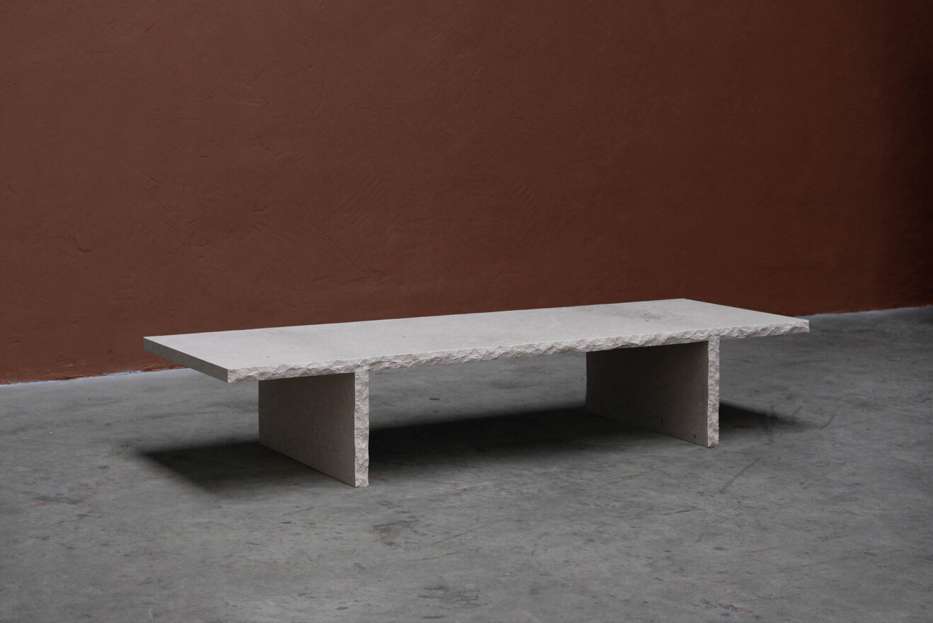 Frederic-Saulou-Frustre-Coffee Table-Savannah Bay Gallery-4