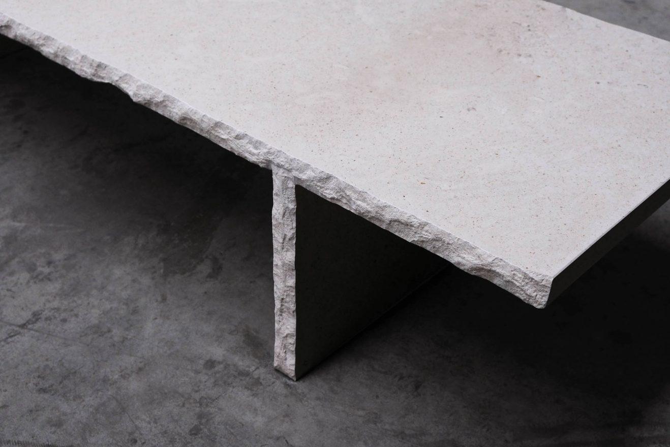 Coffee table Fruste by Frédéric Saulou 1