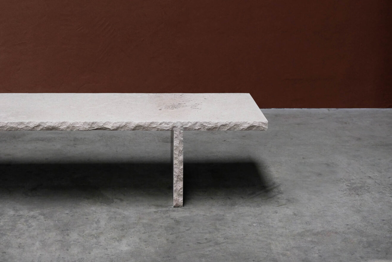 Frederic-Saulou-Frustre-Coffee Table-Savannah Bay Gallery-7
